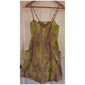 Billabong Tropical Print Dress